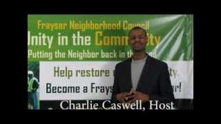 Frayser Community TV hosted by Charlie Caswell Ep 3