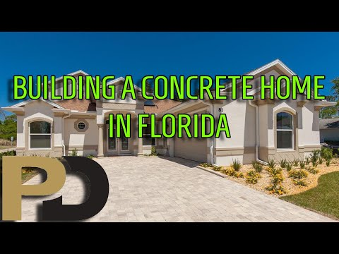 How a concrete home is built in Florida, by Gordon Berken