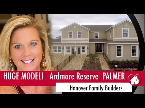 New Homes Winter Garden Minneola Florida Palmer Model by Hanover Family Builders Ardmore Reserve