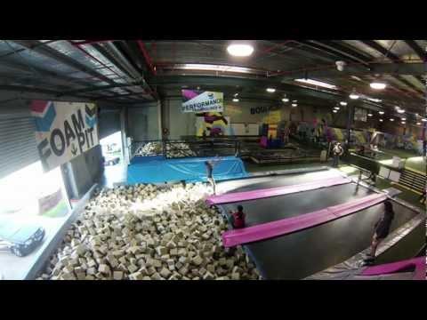 Bounce Inc Trampoline Park Melbourne 2013 GoPro