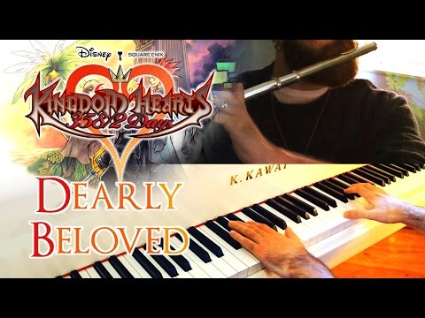 🎵 Dearly Beloved (Kingdom Hearts 358/2 Days) ~ Flute & Piano cover ft igadier