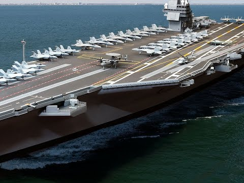 Newest US Navy Aircraft Carrier Awaits Commissioning; Passes Last Sea Trial