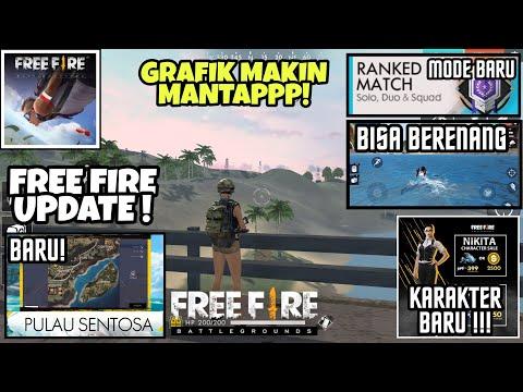 Download Youtube: FREE FIRE GARENA UPDATE - Karakter Baru, Pulau Baru, Bisa Berenang, Rangking Match, GRAFIK MANTAP !