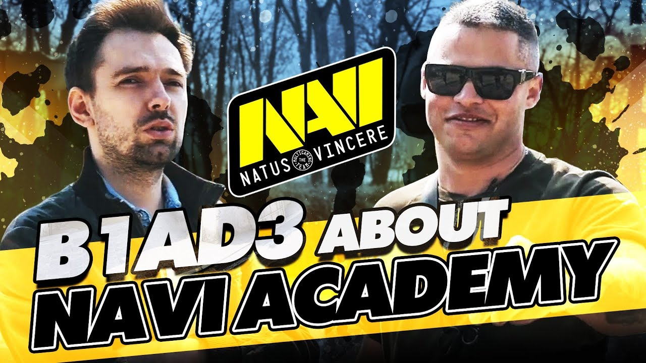 Interview with B1ad3. NAVI Academy & Esports director position