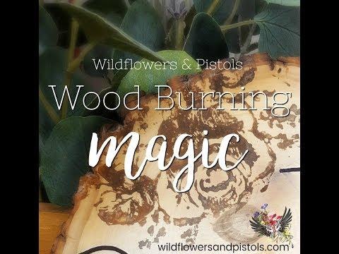 Wood Burning without a Wood Burning Tool