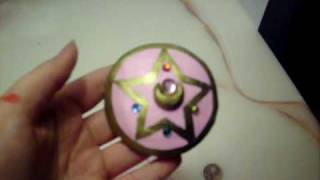 Sailor Moon: R brooch Moon Crystal Power Make Up for cosplay