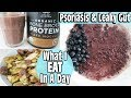 WHAT I EAT IN A DAY | HEALED PSORIASIS & LEAKY GUT