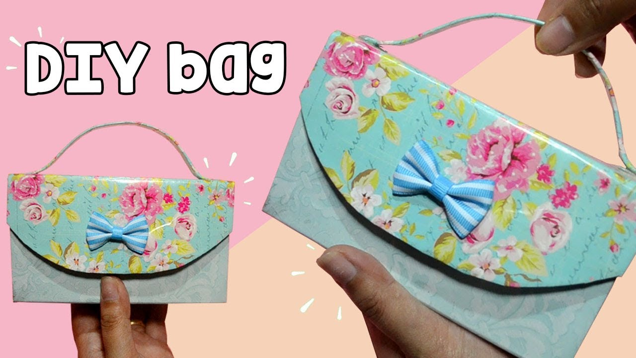 How To Make Easy Cute Bag At Home Diy Clutch You