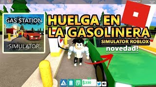 *NEW* Gas Station Simulator Roblox - Strike on my Gas Station!