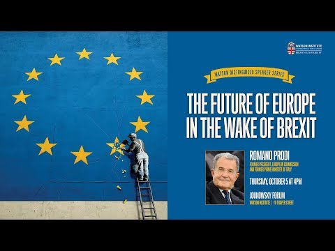 Romano Prodi ─ The Future of Europe in the Wake of Brexit