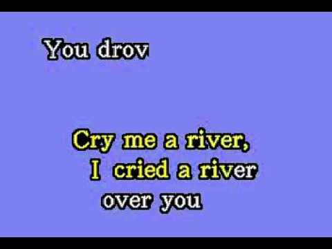 DK045 13   London, Julie   Cry Me A River [karaoke]