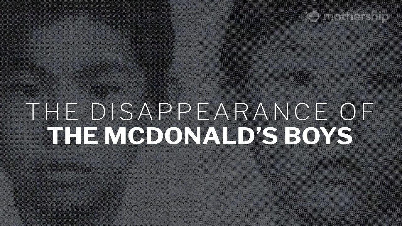 The Disappearance of the McDonald's Boys in Singapore   True Crime