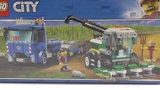 конструктор LEGO City Транспортировщик для комбайнов 60223(обзор)