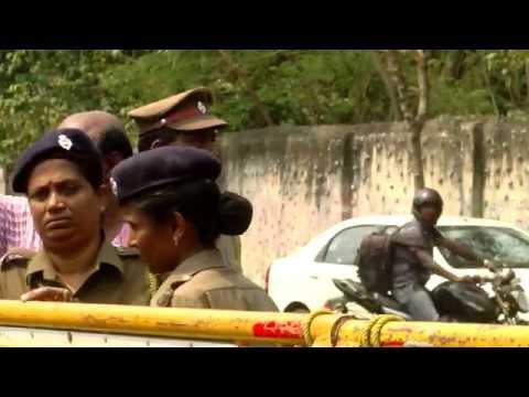 Protest Against SriLankan Prime Minister Ranil Wickremesinghe - RedPix24x7