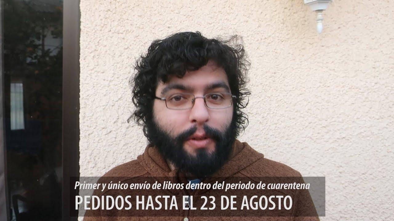 PRIMER ENVÍO de LIBROS en cuarentena: AGOSTO y más novedades