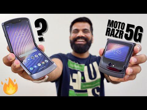 Moto Razr 5G Unboxing & First Look - A Stylish Folding Masterpiece