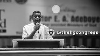 PASTOR EA ADEBOYE SERMON - RCCG CONGRESS 2019 - DESPERATE PRAYERS