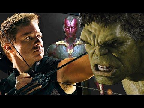 Joss Whedon Talks Hulk, Hawkeye & Vision In Avengers 2