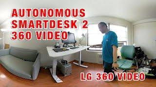 My new Autonomous Smart Desk 2 - 360 Video