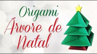 Árvore de Natal - Origami Passo a Passo | Christmas tree