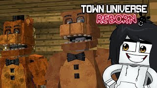 TOWN UNIVERSE REBORN: WITHERED FREDDY & UNWITHERED FREDDY  #31 (Minecraft Serie de Mods)