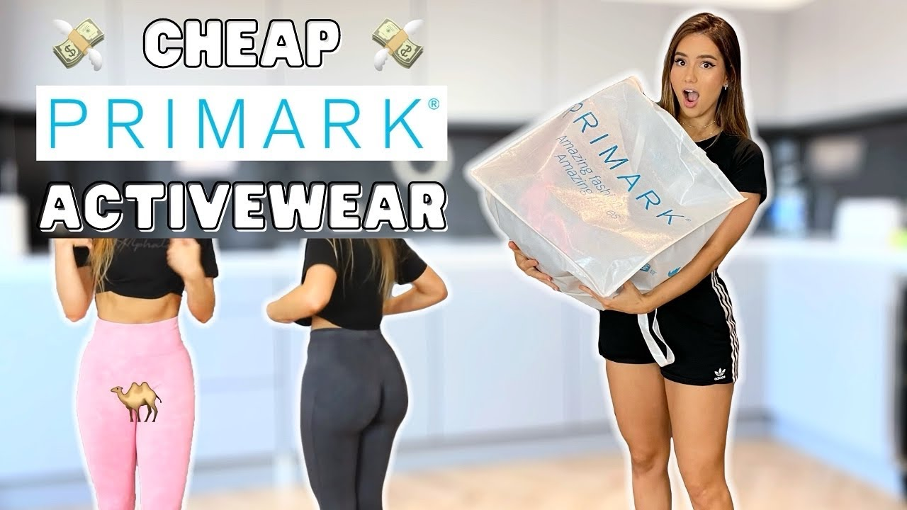 CHEAP Primark Activewear try-on & review | Gymshark dupe?