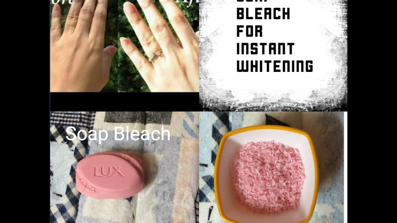 Soap Bleach For Instant Whitening Diy Hindi Hydrogen Peroxide Skin