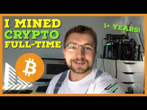 What It Was Like MINING Cryptocurrency Full-Time For A Year | Tails Health Update | VoskCoin Rebrand