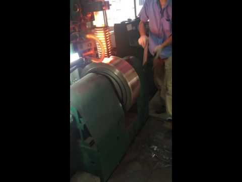 Alloy melting by induction furnace