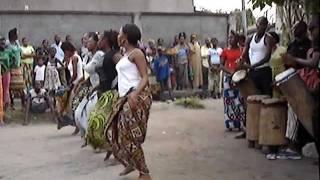 Congolese Dance/Drum Rehearsal #3, Brazzaville, Congo