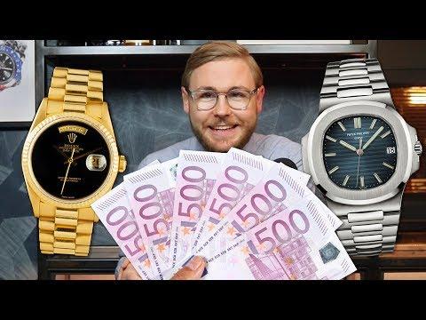Wij KOPEN jouw HORLOGE Rolex Patek Philippe AP Cartier Omega IWC etc