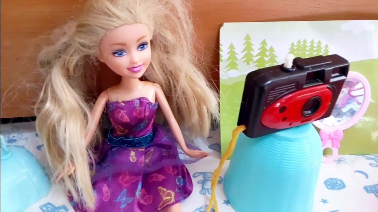 Куклы LOL помогают Барби собраться на свидание. Мультик ...