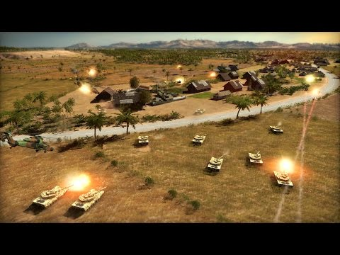 Epic Strategy of Modern Warfare Wargame Red Dragon! US and USSR Confrontation