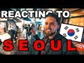 British Couples First Reaction To SEOUL, South Korea!