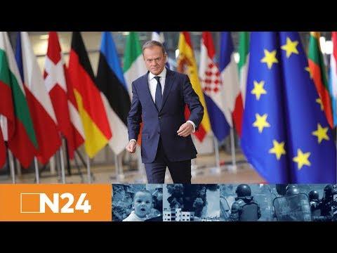 Bitte keinen Brexit: EU-Ratspräsident Tusk bietet Großbritannien Verbleib in EU an