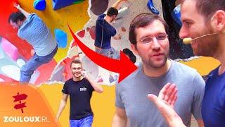 Olivier et Nems se font coacher par le champion du monde d'escalade | Zouloux IRL