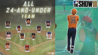 CAN AN UNDER 24 SQUAD WIN?  MLB The Show 18 Diamond Dynasty 