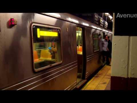 BMT Brighton/4th Avenue Lines: Manhattan-bound (B, Q, R) Trains@DeKalb Avenue