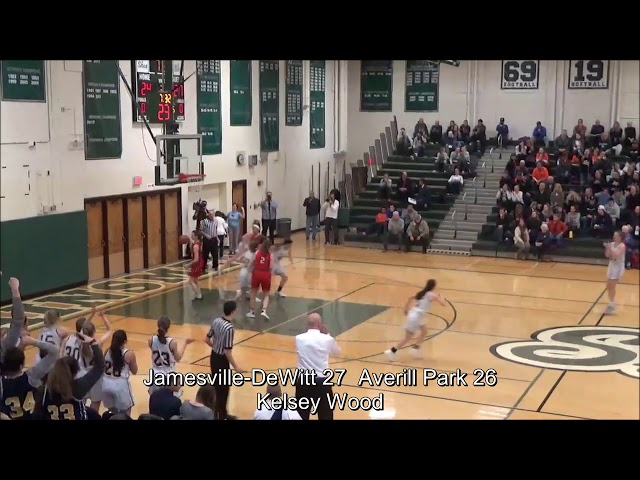 Game Highlights Girls' Varsity: Jamesville-DeWitt  65 vs Averill Park 60