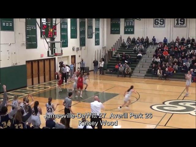 Game Highlights Girls' Varsity: Jamesville-DeWitt  65 vs Averill Park 60