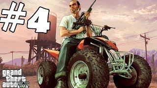 Grand Theft Auto 5  gameplay part #4 youtube