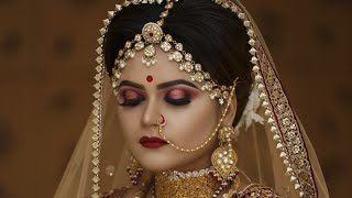 Letest Indian bridal makeup  by ,anurag sir start makeup diploma class 15th July call. 9920127706