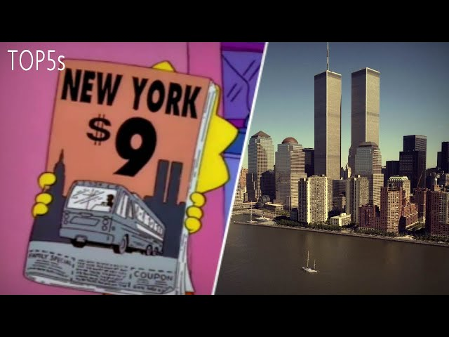 5 INSANE Simpsons Predictions That Seemed To Have Come True...