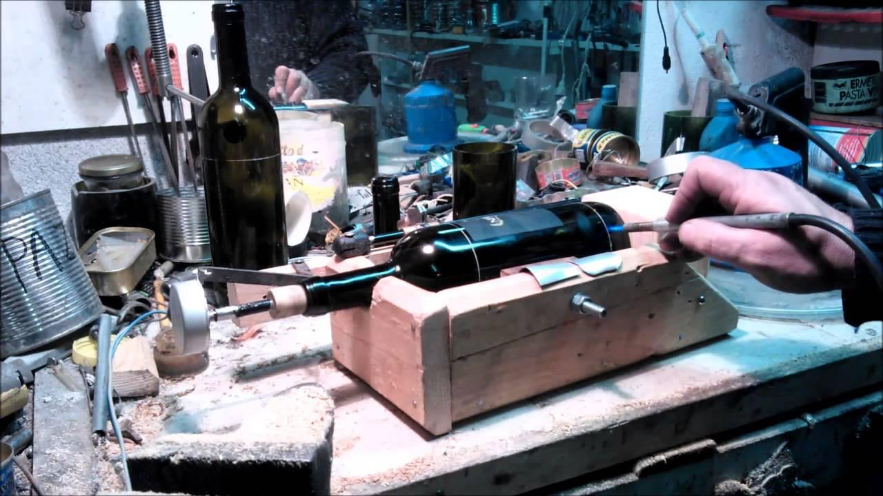 Taglia Bottiglie Di Vetro.Taglia Bottiglie 3 Youtube