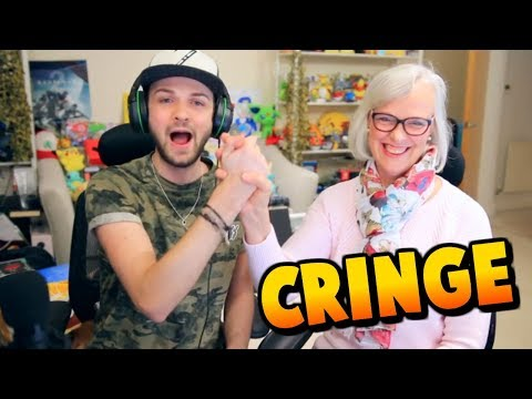 Ali A & HIS MUM FORTNITE CRINGE!