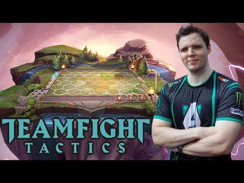TI Winner Tries TeamFight Tactics! (League Auto Chess)