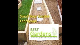 Small Rear Garden Landscape