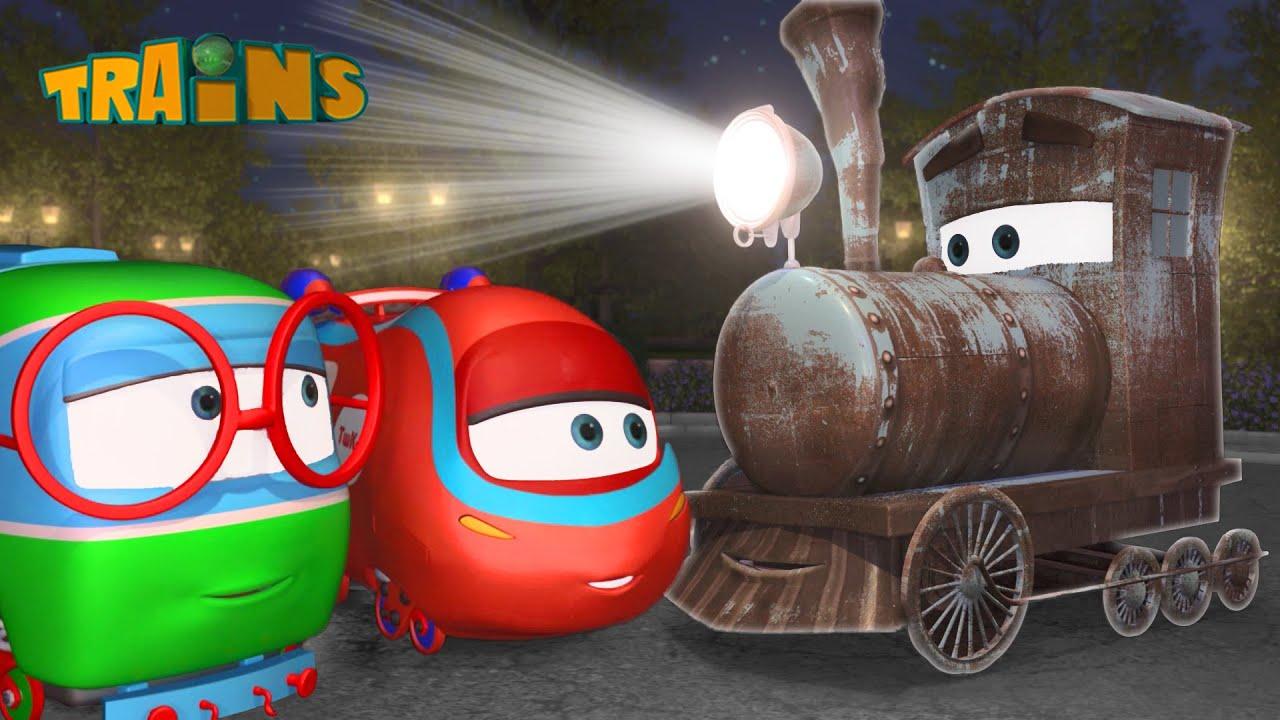 Videosammlung mit Loks Züge Trains - Animationsfilme für Kinder   N42