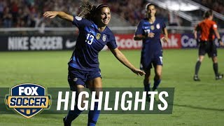 Alex Morgan makes it 3-0 vs. Mexico | 2018 CONCACAF Women's Championship