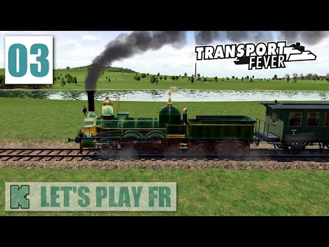 [FR] Transport Fever Let's play en partie libre | 1859 | Train Borsig vers Eickbolsheim